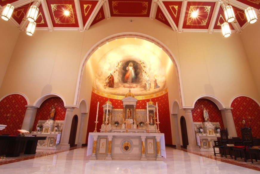 Chapel of Divine Mercy int 1