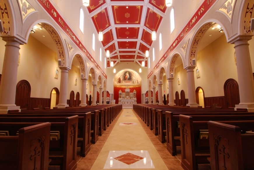 Chapel of Divine Mercy int 2